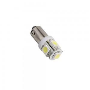 Светодиодная лампа LED Fantom FT BA9S-5050-5SMD (Теплый белый)