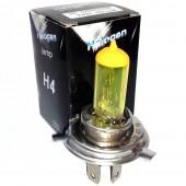 Галогеновая лампа EA Light-X H4 +50% 12v 60/55w 2700k Colorful Yellow