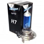 Галогеновая лампа EA Light-X H7 +50% 12v 55w 4700k Colorful Blue