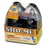 Галогеновая лампа Sho-Me HB3 SVU +120% 4300К (комплект)