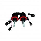 Биксеноновая лампа Infolight H13 35w 4300k (комплект) + проводка биксенон 12v