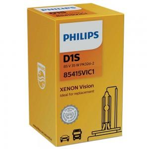 Штатная ксеноновая лампа Philips D1S Xenon Vision 85415VIC1 35w 4600k
