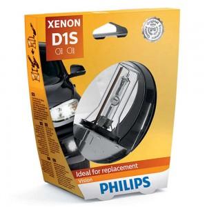 Штатная ксеноновая лампа Philips D1S Xenon Vision 85415VIS1 35w 4600k