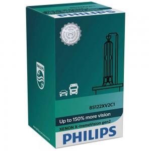 Штатная ксеноновая лампа Philips D1S Xenon X-tremeVision gen2 85415XV2C1 35w 4800k
