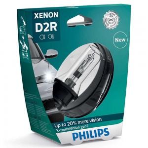 Штатная ксеноновая лампа Philips D2R Xenon X-tremeVision gen2 85126XV2S1 35w 4800k