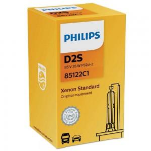 Штатная ксеноновая лампа Philips D2S Xenon Vision 85122VIC1 35w 4600k