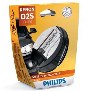 Штатная ксеноновая лампа Philips D2S Xenon Vision 85122VIS1 35w 4600k