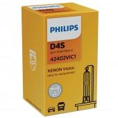 Штатная ксеноновая лампа Philips D4S Xenon Vision 42402VIC1 35w 4600k