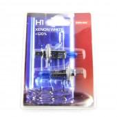 Галогеновая лампа Sho-Me H1 4300k +120% (комплект)