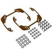 Переходная рамка для замены линз Infiniti G 2006-2011 на модуль Hella 3/3R