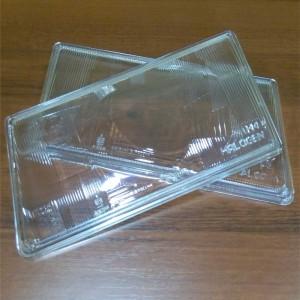 Полированные стекла фар для ВАЗ 2108, 2109, 21099 частичная полировка
