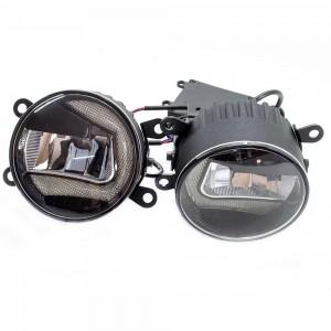 Противотуманные фары Iphcar DRL LED Osram type 90 мм