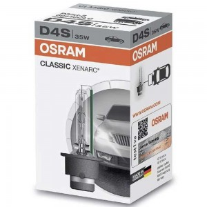 Штатная ксеноновая лампа Osram D4S Xenarc Classic 66440CLC-FS 35w P32d-5 4150k
