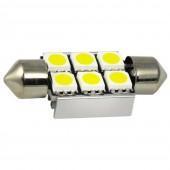 Светодиодная лампа LED Cyclone T11-007(36) CAN 5050-6 12V ST (белый)