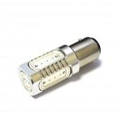 Светодиодная лампа LED Galaxy S25 (P21W 1156 BA15S) HIGH POWER 5PCS 7.5W (Желтый)