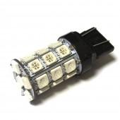 Светодиодная лампа LED Galaxy T20 (W21W 7440 W3х16d) 5050 27SMD (Желтый)