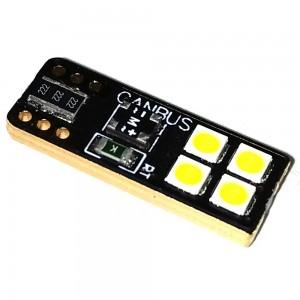 Светодиодная лампа LED Guarand Premium T10 (W5W) 3030 4SMD canbus (Белый)