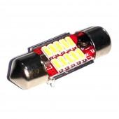 Светодиодная лампа LED Guarand C5W (SV8,5) 5630 12SMD Canbus 31мм 3w 12-24v (Белый)