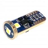 Светодиодная лампа LED Guarand Premium T10 (W5W) 3030 3SMD canbus (Белый)