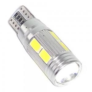 Светодиодная лампа LED Guarand T10 (W5W) 5630 10SMD Canbus (Белый)