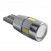Светодиодная лампа LED Guarand T10 (W5W) 5630 6SMD Canbus (Белый)