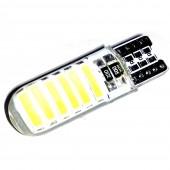 Светодиодная лампа LED Guarand T10 (W5W) Crystal 7020 12SMD 3w 12v (Белый)