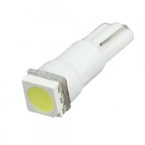 Светодиодная лампа LED Guarand T5 (W3W) 5050 1SMD (Холодный Белый)