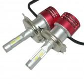 Светодиодные лампы LED Contrast Favorit H4 5500k 8400Lm 60w (к-т)