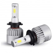Светодиодные лампы LED Sigma S2 COB H7 6500k 8000Lm 12v-24v