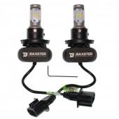 Светодиодные лампы LED Baxster S1 H13 5000k 4000Lm 12v-24v (комплект)