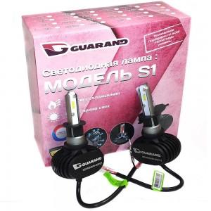Светодиодные лампы LED Guarand S1 H3 CSP 5000k 4000Lm 35w 12-24v