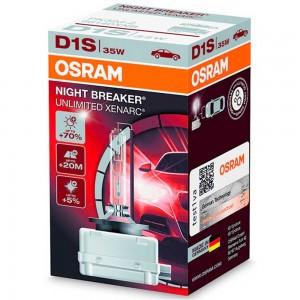 Штатная ксеноновая лампа Osram D1S Xenarc Night Breaker Laser 66140XNL 35w PK32d-2 4200k
