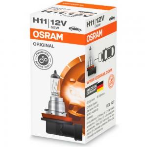 Галогеновая лампа Osram H11 Original 64211L 55w PGJ19-2