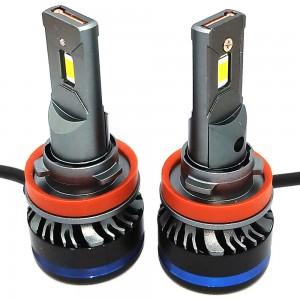 Светодиодные лампы LED TBS Design T19 H11 Canbus G-XP 6500k 9000Lm 45w 12-24v