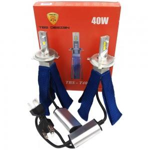 Светодиодные лампы LED TBS Design T40 G-XP H4 6500k 8000Lm 40w 12-24v