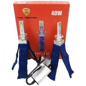 Светодиодные лампы LED TBS Design T40 G-XP H1 6500k 8000Lm 40w 12-24v