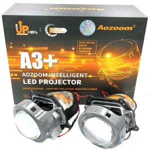 "Светодиодные линзы Bi-LED Aozoom A3+ 3.0"" 5500k 4000lm 35w 12v"