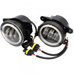 Противотуманные фары LED EA Light X Wrangler, Dodge, Chrysler с DRL Cree 5000k 4500Lm 60w 12v