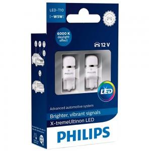 Светодиодные лампы LED Philips X-tremeUltinon LED T10 12799LED 12v W2,1X9,5d 1w 6000k