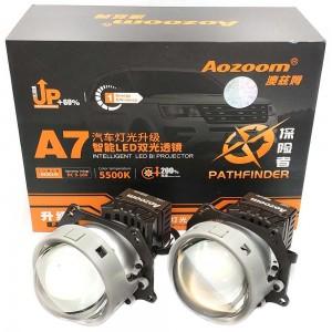"Светодиодные линзы Bi-LED Aozoom A7+ 3.0"" 5500k 5800lm 60w 12v"