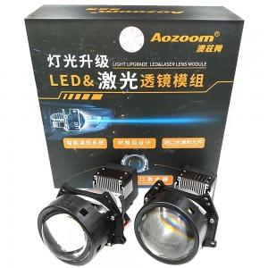 "Светодиодные линзы Bi-LED Aozoom Laser&LED Projector 3.0"" 5500k 5800lm 65w 12v"