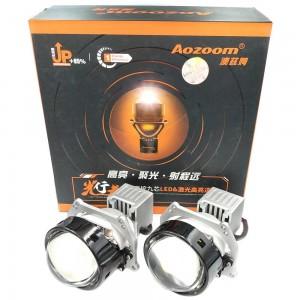"Светодиодные линзы Bi-LED Aozoom Laser&LED AAPD-02 3.0"" 6000k 8600lm 56w 12v"