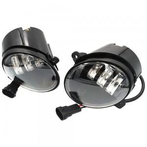 Противотуманные фары LED EA Light X 90mm Cree 5000k 4500Lm 60w 12v со скосом стекла