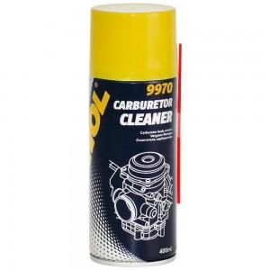 Смазка Mannol Carburetor Cleaner Vergaser Reiniger 9970 очиститель карбюратора 0.4л