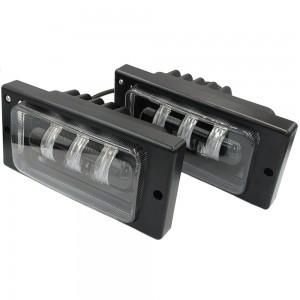 Противотуманные фары LED EA Light X JR-50 ВАЗ 2110, 2111, 2112, 2113, 2114, 2115/Chevrolet Niva 3000k/6000k 12v