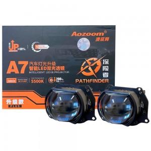 "Светодиодные линзы Bi-LED Aozoom A7 Pro 3.0"" 5500k 6000lm 47w 12v"
