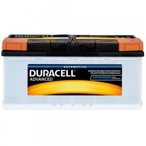 Автомобильный аккумулятор Duracell DA100 АкБ 100Ah 12v R EN820A 354х175х190