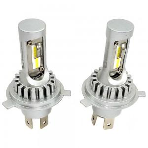Светодиодные лампы LED Guarand V12X H4 H/L CSP 6000k 4000Lm 12-24v