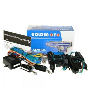 Центральный замок Golden eye Y-5000 с выкидным ключом (комплект)