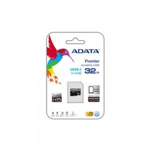 Карта памяти A-Data microSDXC, 64Gb, Class10 UHS-I, SD адаптер